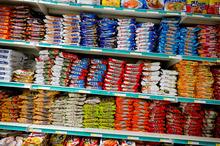 Asian supermarkets offer a wide range of ethnic foodstuffs. Photo / Greg bowker