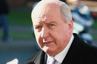 Radio announcer Alan Jones. Photo / Getty