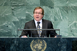 Murray McCully, Minister for Foreign Affairs of New Zealand. Photo / Devra Berkowitz
