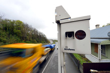 New Zealand speed cameras notices record levels. Photo / Otago Daily times