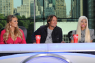 Mariah Carey, Keith Urban and Nicki Minaj on the judging panel for American Idol. Photo / supplied