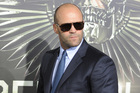 Actor Jason Statham is known for his shaved head.Photo / AP