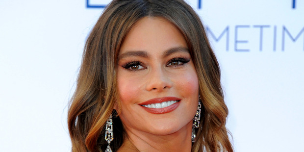 Actress Sofia Vergara was among the best dressed women at the Emmy Awards.Photo / AP