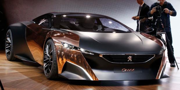 Peugeot Onyx. Photo / AP
