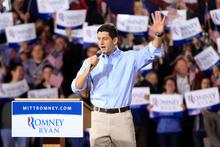 Republican Vice Presidential candidate Paul Ryan. Photo / AP