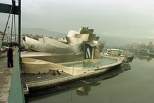 The Guggenheim Museum in Bilbao was built on time and to budget. Photo / AP