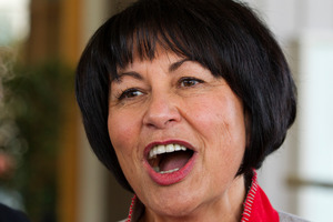 Education Minister Hekia Parata at the PPTA (Post Primary Teachers Association) annual conference. Photo / Mark Mitchell