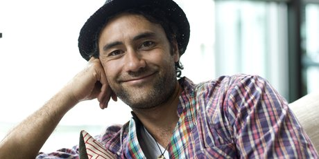 New Zealand film-maker Taika Waititi used crowd sourcing to help raise money to distribute the move Boy. Such fund raising may soon come under new securities law. Photo / David White