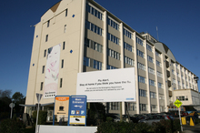 Middlemore hospital has closed one ward and no children are allowed to visit. Photo / Glenn Jeffrey