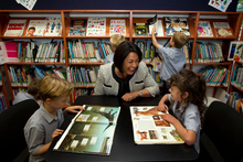 Hekia Parata announced new class ratios in the May Budget. Photo / Brett Phibbs 