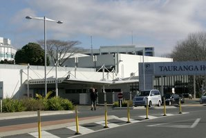 A Norovirus outbreak at Tauranga Hospital, pictured, is on the wane, but cases at Middlemore Hospital in Auckland continue to rise. Photo / Chris Callinan