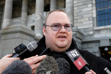 Kim Dotcom. Photo / Mark Mitchell