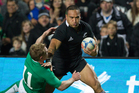 Hosea Gear will be back in the All Blacks for this weekend's match against South Africa. Photo / Greg Bowker