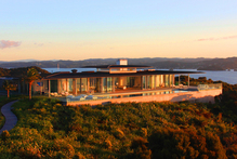 Tourism company Ahipara organises holidays for the super-rich, with guests staying in luxury accommodation such as the Bay of Island's Eagles Nest. Photo / Supplied