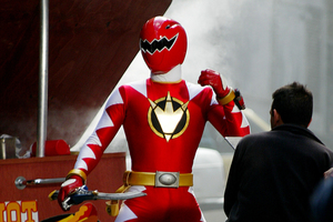 Many of the technicians working on Power Rangers in Auckland are American. Photo / Glenn Jeffrey