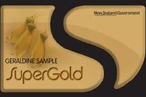 The SuperGold Card. Photo / Supplied