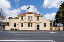 A street level view of old post office building at 311 Manukau Rd.