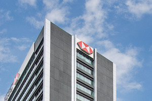 21-level HSBC House office tower for sale at 1 Queen St, Auckland. Photo / Bruce Clarke
