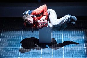 Luke Treadaway, as narrator Christopher Boone, takes us terrifyingly and hilariously into his autistic world. Photo / Supplied