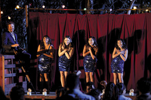 The musical drama brings the story of Aboriginal singers making it big in Vietnam to life. Photo / Supplied