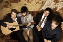 Mumford & Sons play at Auckland's Vector on November 2. Photo / Supplied