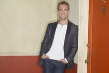 James Van Der Beek is relishing his latest role as a washed-up teen idol desperate to get back in the limelight; the character just happens to be based on himself. Photo / Getty Images