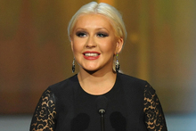 Quotes about being a 'fat girl' attributed to Christina Aguilera were made up, the singer's reps say. Photo / AP
