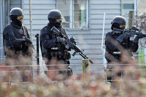 Armed Offenders Squad officers were involved in the operation. Photo / File