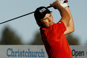 Ben Campbell is looking to bow out from amateur golf in style. Photo / Getty Images.