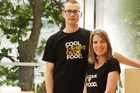 Cool Food's Simon and Amy Hope. Photo / Supplied
