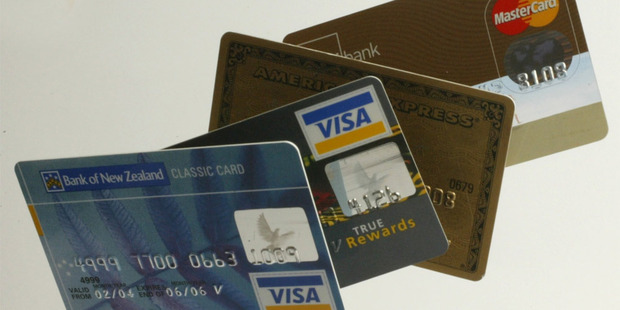 Credit card rates remain high amidst falling Official cash rate and floating home loan rates. Photo / Supplied