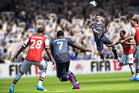 FIFA 13's improved physics system is an attempt to make ball control feel less like a simulation, and more natural. Photo / Supplied