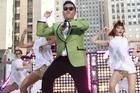 South Korean rapper PSY performs his massive K-pop hit