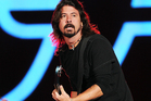 Dave Grohl peforms at the Global Citizen Festival in Central Park. Photo / AP