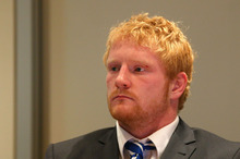 James Graham of the Canterbury Bulldogs at the NRL judiciary at NRL Headquarters in Sydney. Photo /Getty Images