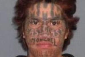 Mana Justin Tangitutu is on the run. He was sentenced to jail for a family violence incident where he assaulted a woman. Photo / NZ Police