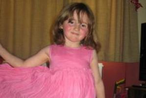 Five-year-old April Jones was snatched off the street yesterday and hasn't been seen since. Photo / Police