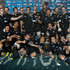 The All Blacks celebrate after winning the inaugural Rugby Chamionship. Photo / Getty Images.