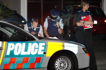 The man's body was on Sunday night on Hillside Road, Mt Wellington. Photo / Steven McNicholl 