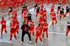 Prisoners in Cebu dancing Gangnam Style.