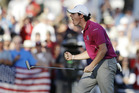 Rory McIlroy has two quick-thinking officials to thank for his role in winning the Ryder Cup. Photo / AP