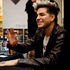 US singer Adam Lambert signs CDs for hundreds of fans at JB Hi Fi, on Queen Street. Photo / Dean Purcell