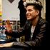 US singer Adam Lambert signs CDs for hundreds of fans at JB Hi Fi, on Queen Street. Photo / Dean Purcell