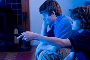 TV has been seen associated with poor wellbeing in teens for a long time.Photo / Thinkstock