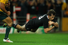 Conrad Smith has been in an undefeated All Blacks side in 56 of his 62 tests. Photo / Getty Images