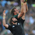 Andries Bekker of South Africa wins the ball from Sam Whitelock.Photo / Getty Images