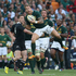 Francois Hougaard catches the ball.Photo / Getty Images