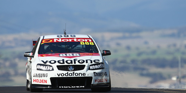 Craig Lowndes during qualifying for the Bathurst 1000. Photo / Getty Images
