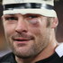 Richie McCaw sports a black eye.Photo / Getty Images
