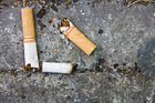A discarded cigarette butt or piece of chewing gum discarded improperly in public could result in a $100 fine. Photo / Thinkstock
